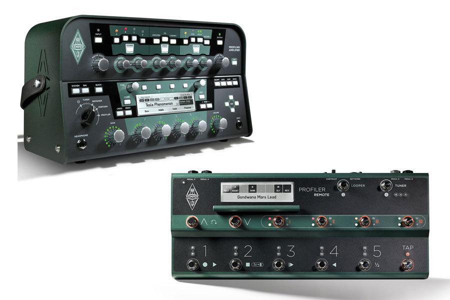 blue guitars profiling amp power head profiling remote set