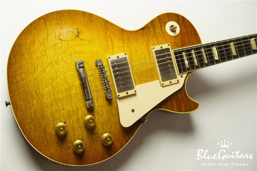 g7-LPS Series9 3A - Vintage Green Burst [Half Vintage Finish]