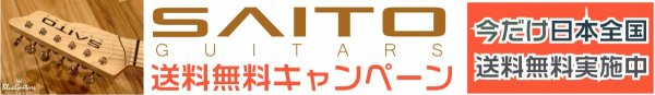SAITO GUITARS 送料無料