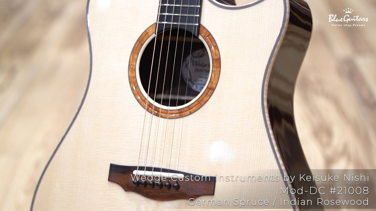 Mod-DC #21008 German Spruce / Indian Rosewood