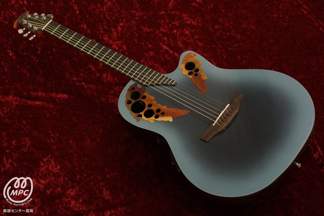 Сыграно на электроакустической гитаре Ovation …